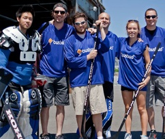 Busbud Ball Hockey